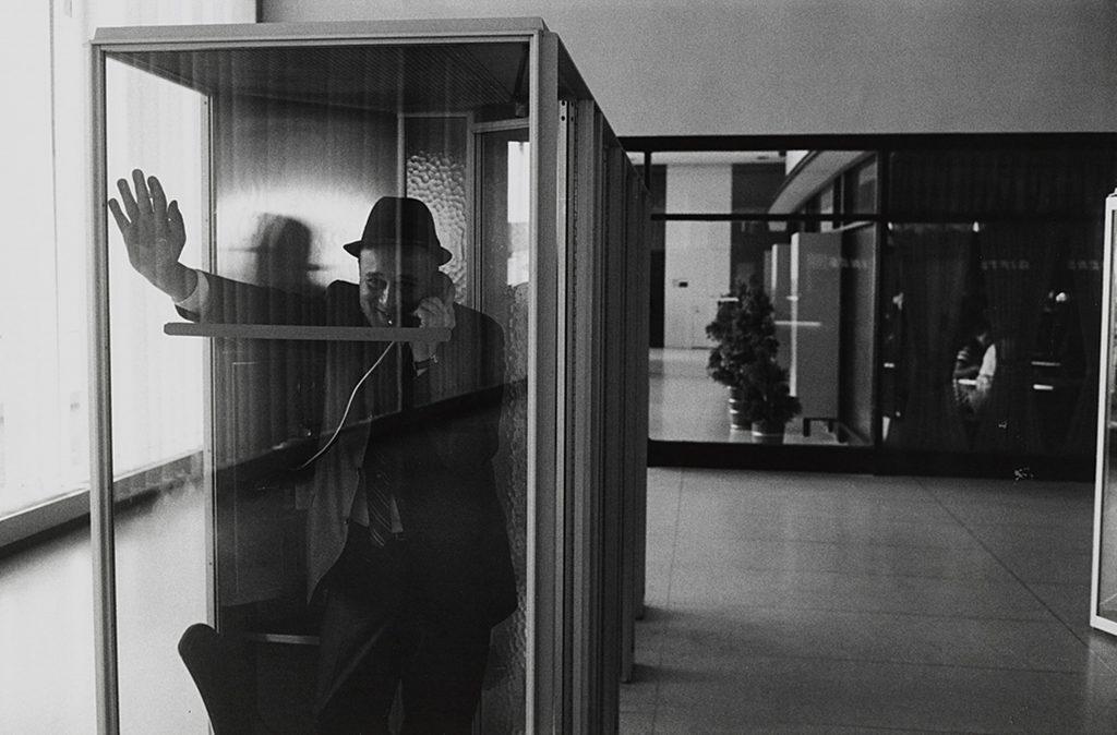 John F Kennedy International Airport, New York, 1968 (courtesy Fraenkel Gallery, San Francisco)