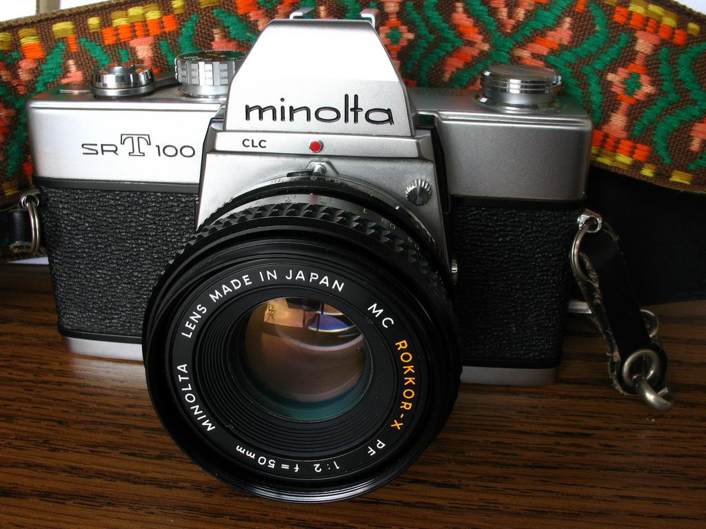Minolta SR-T 100X (Pic: mpclemens/Flickr)