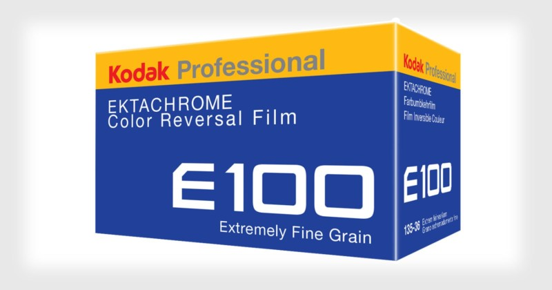 Kodak Ektachrome 100 (Pic: Kodak)