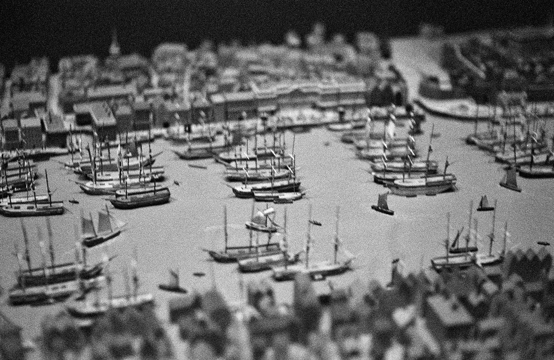 Diorama at Maritime Museum