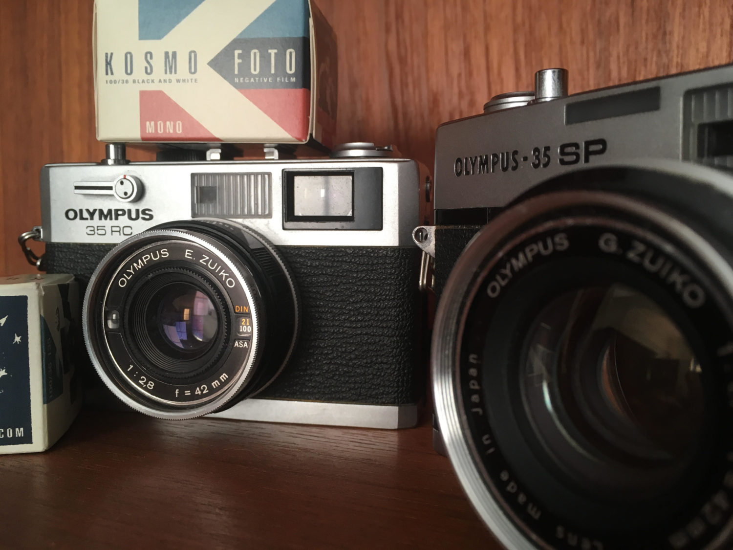 Olympus 35RC and Olympus 35SP
