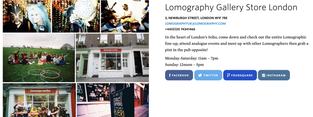 Lomography London
