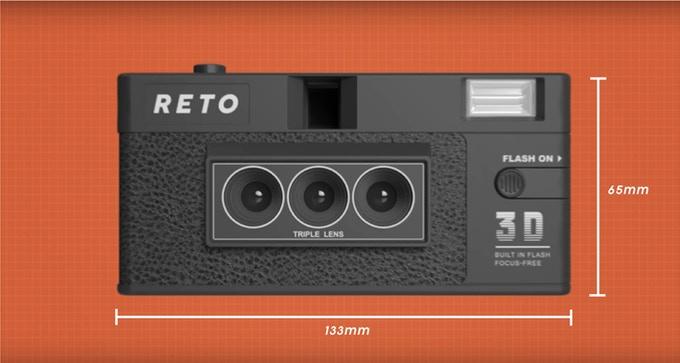 Reto3D camera render