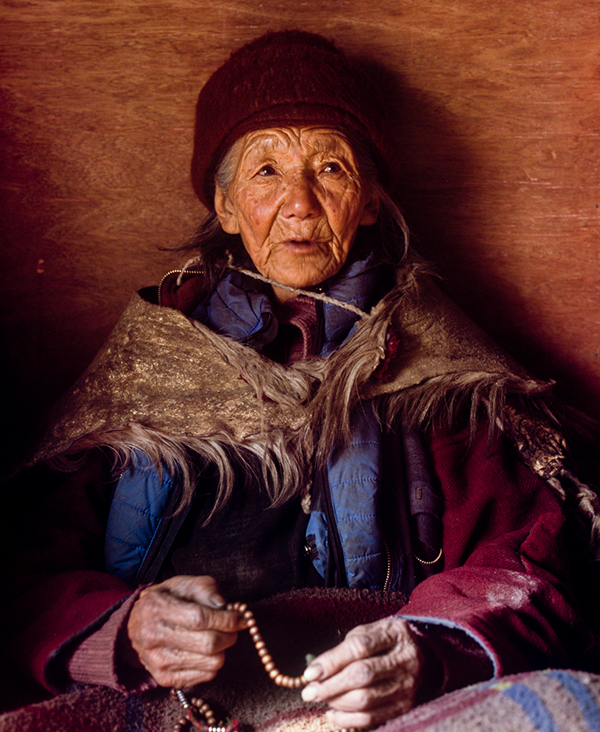 Woman from Stongdey village
