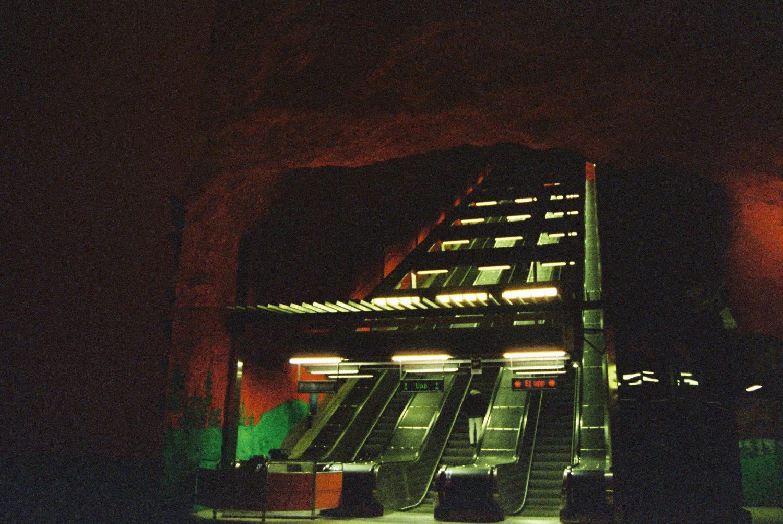Stockholm metro station