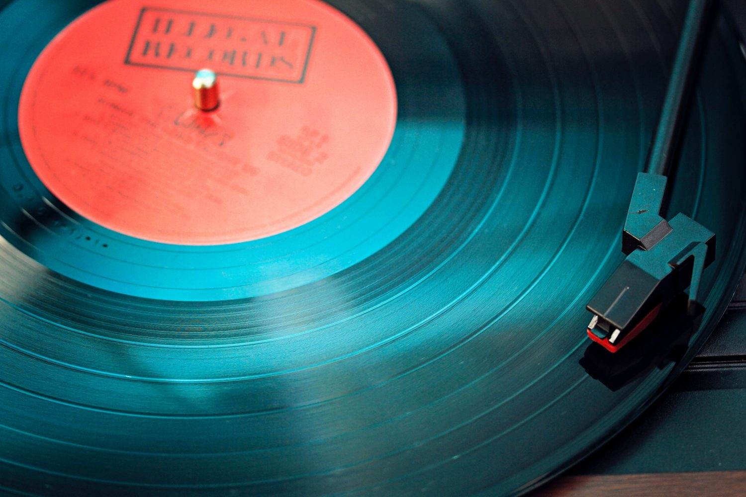 Record on turntable (Pic: Elviss Railijs/Pexels)