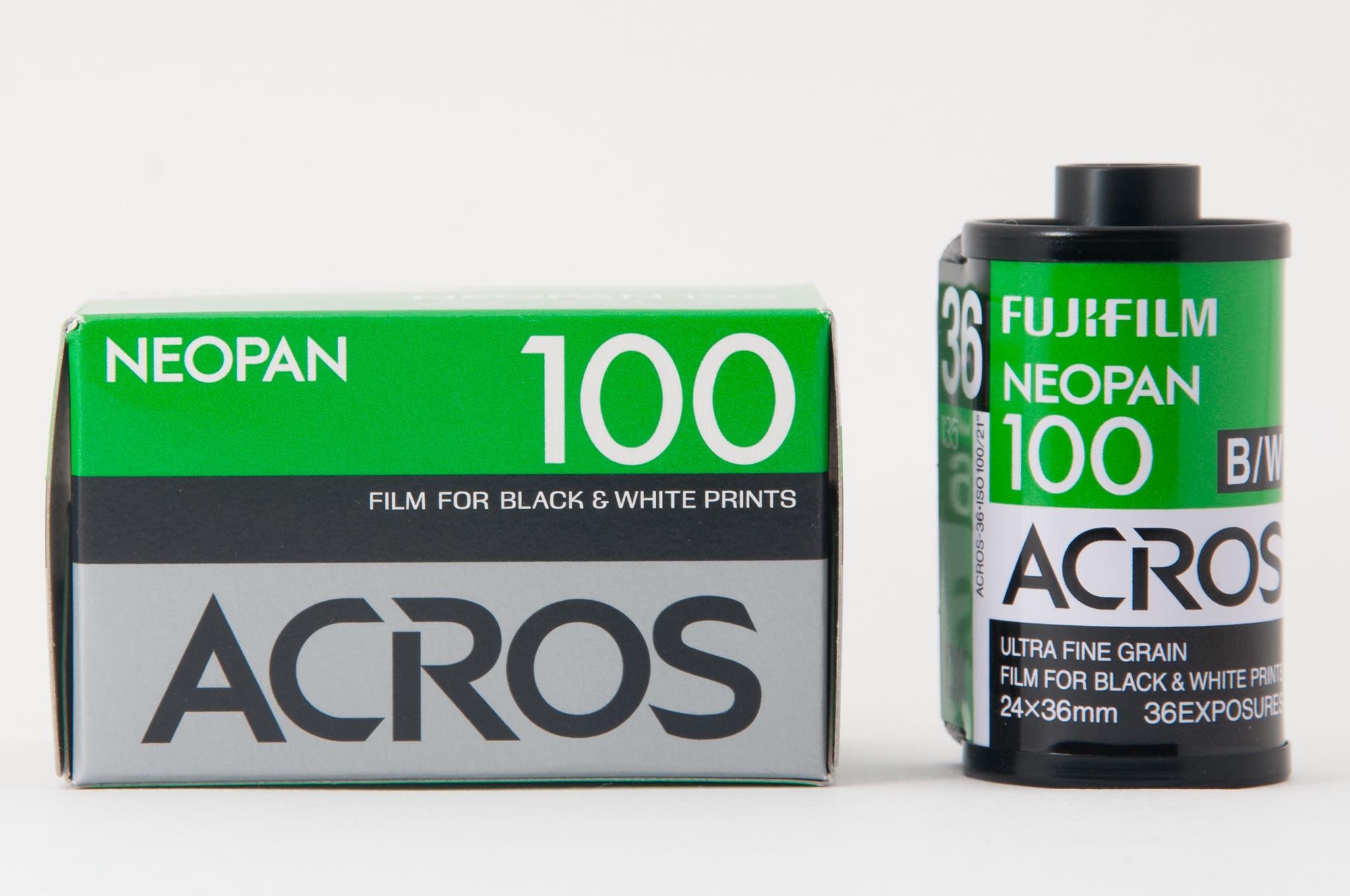 Fujifilm Neopan 100 Acros