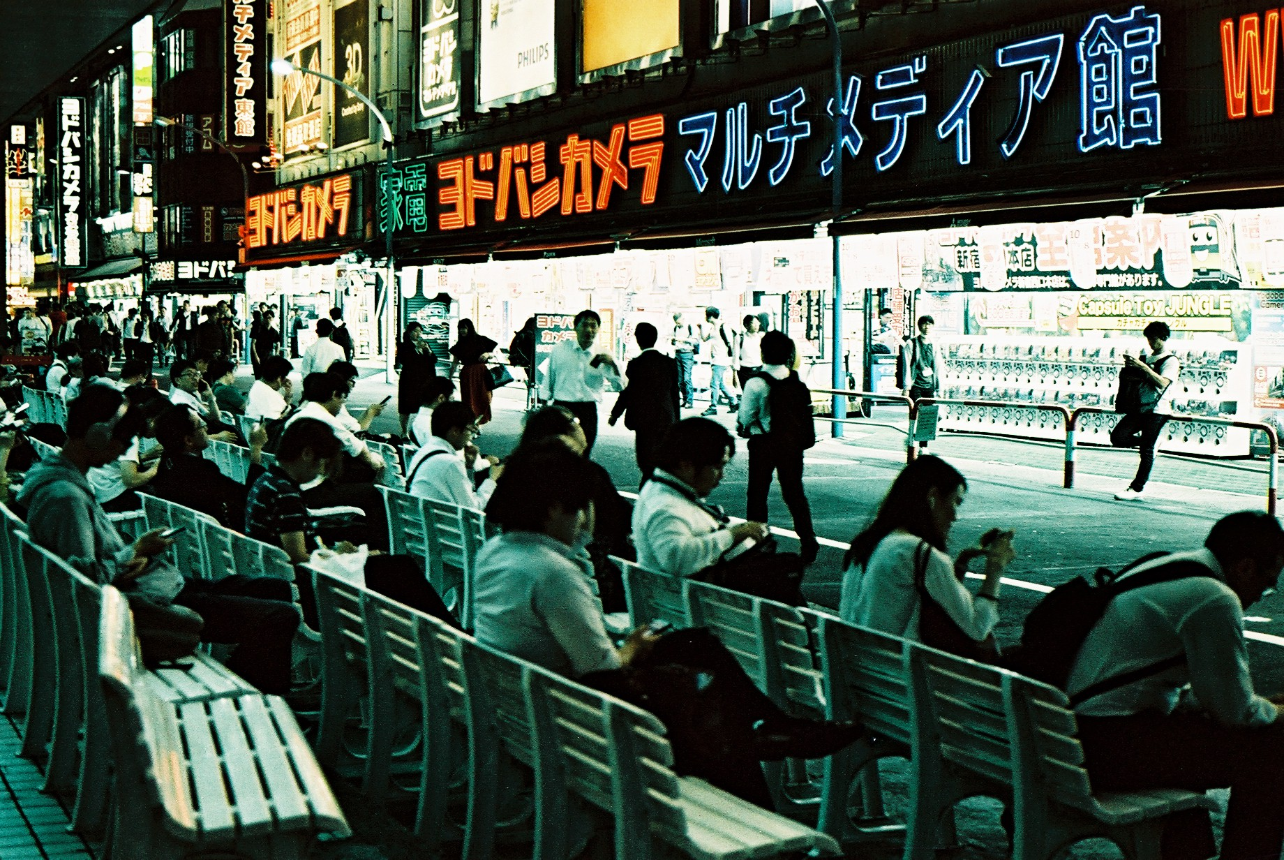 LomoChrome Metropolis test shot