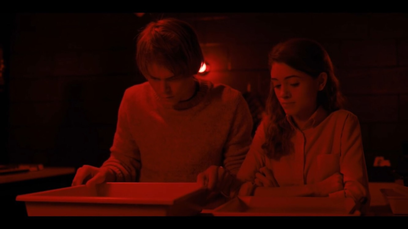 Johnathan Byers (Charlie Heaton) and Nancy Wheeler (Natalia Dyer)