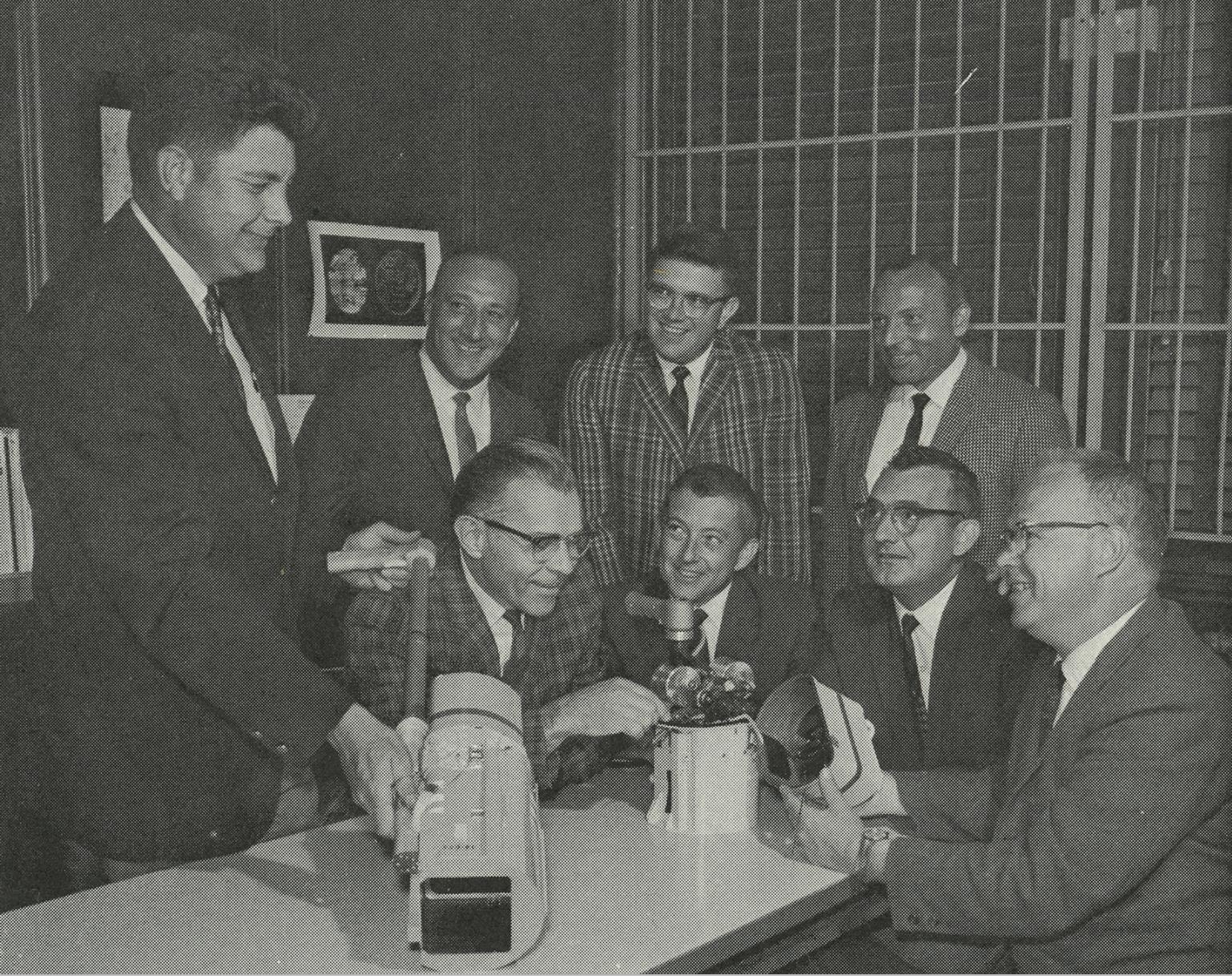 Kodak managers with the ALSCC (Pic: Kodak)