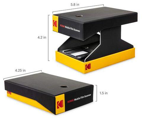 Kodak Mobile Film Scanner (Pic: Kodak)