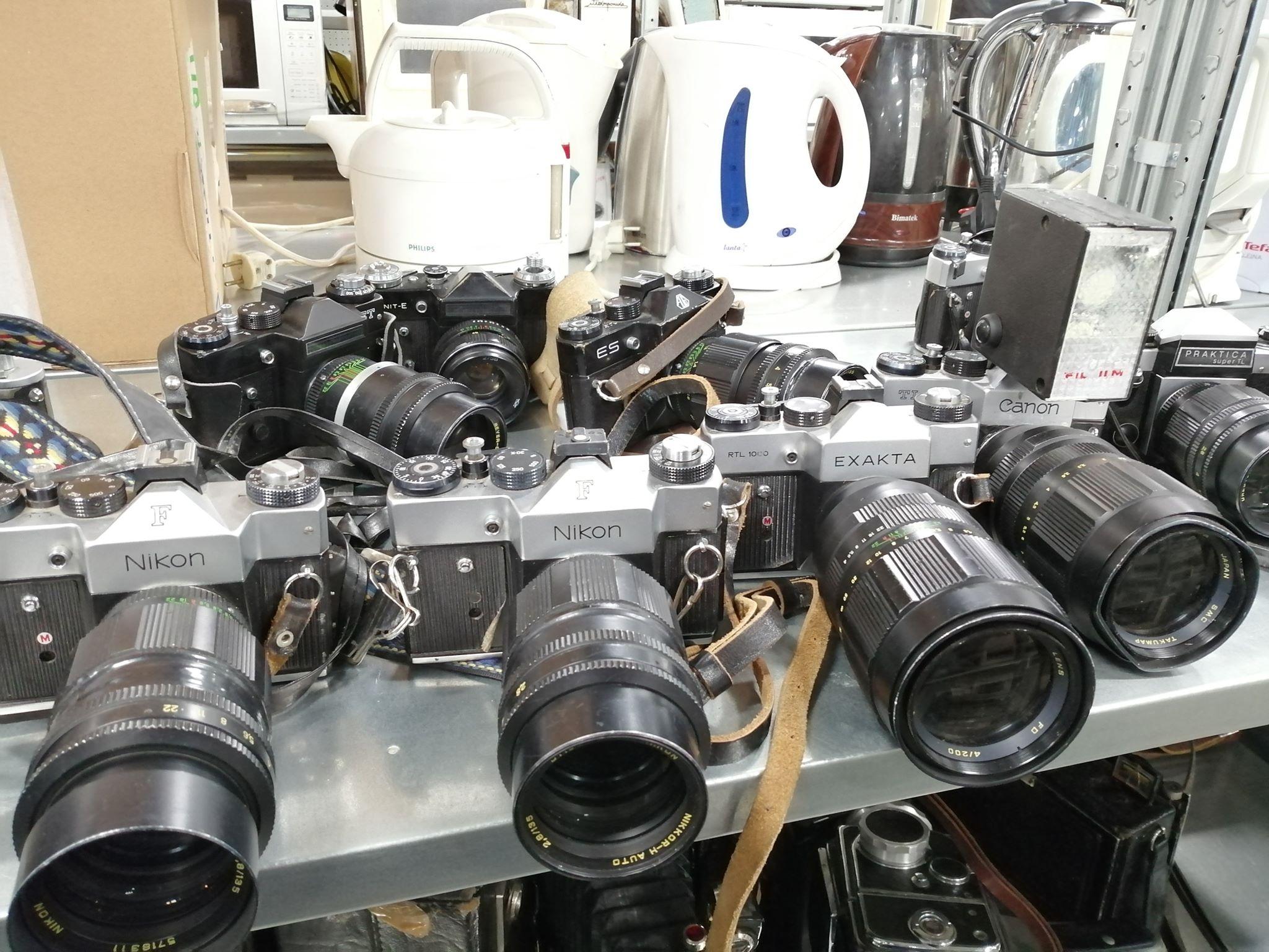 Faked Western cameras at Mosfilm (Pic: Niken Vorozkitskiy)