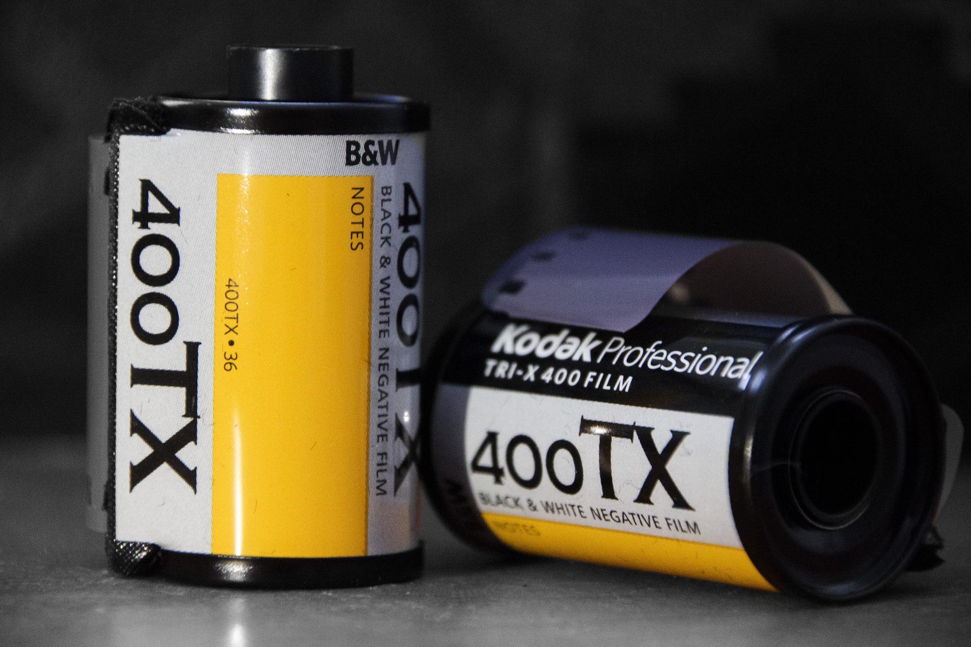 Kodak Tri-X (Pic: Wikimedia Commons)