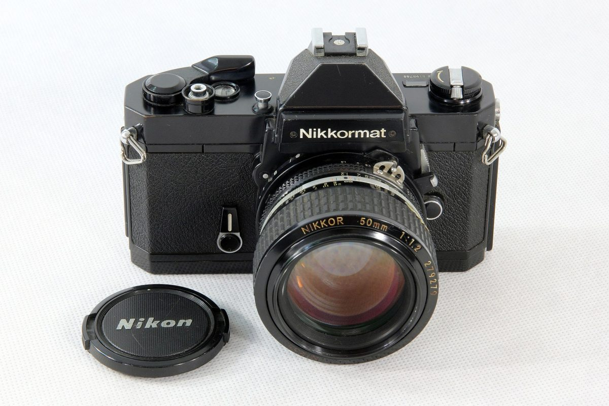 Nikkormat FT2 (Pic: Halley Pacheco de Oliveira/Wikimedia Commons)