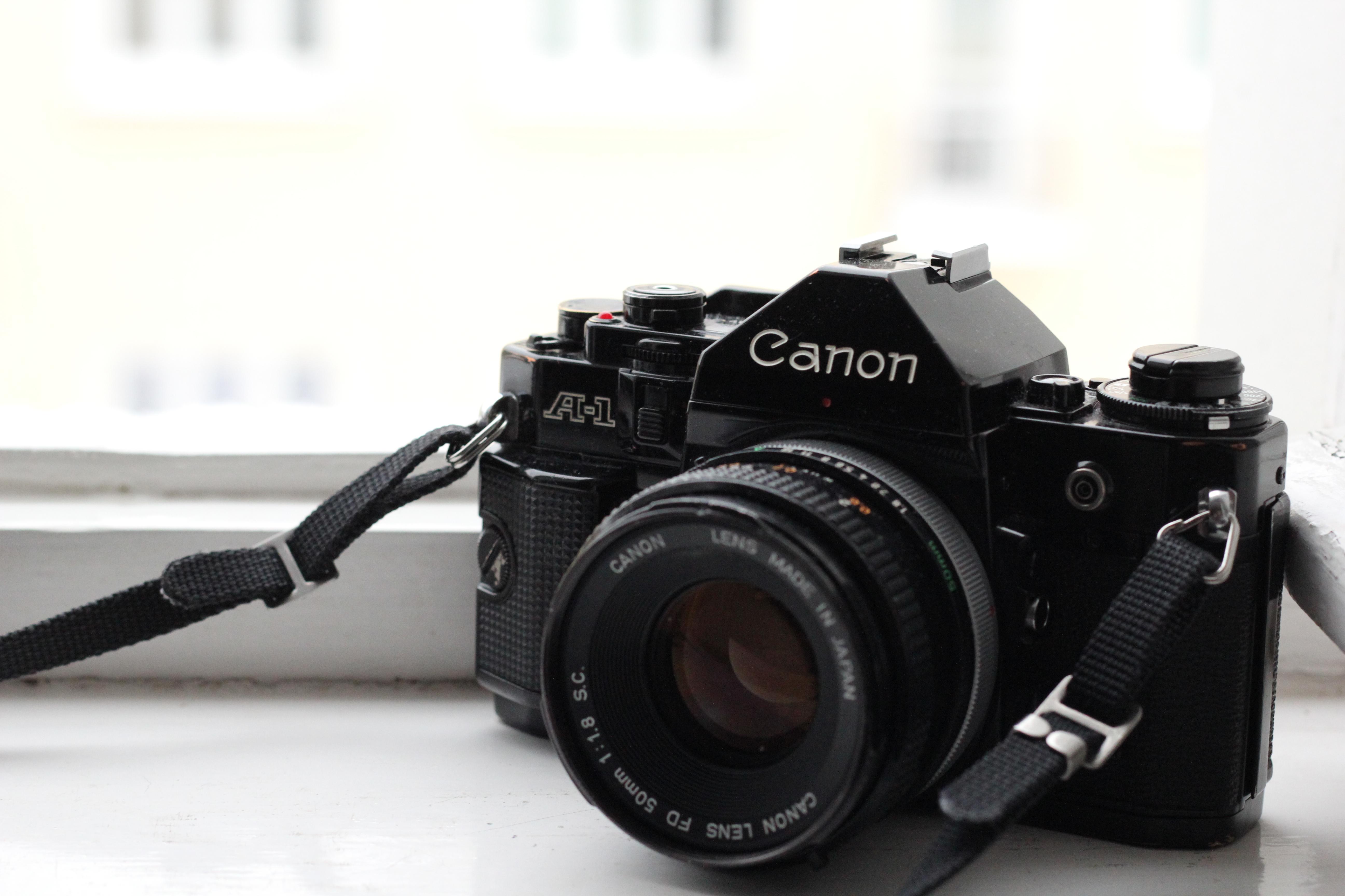 The Canon A-1 (Pic: Veronika Exnerova)