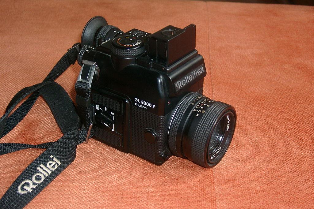Rolleiflex's 2000F SLR (Pic: Franz Pförtsch/Wikimedia Commons)