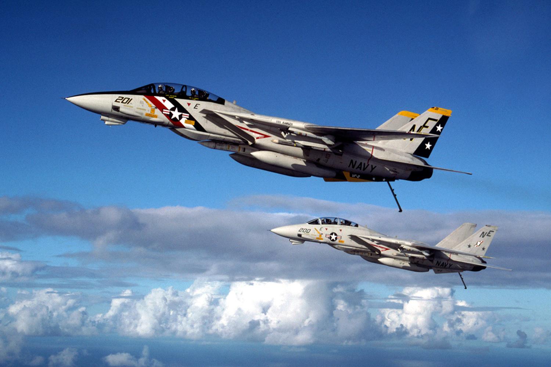 F-14 Tomcats (Pic: Dave Baranek)