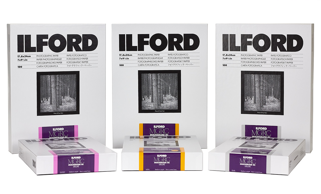 Ilford Multigrade RC Deluxe paper (Pic: Ilford Photo)
