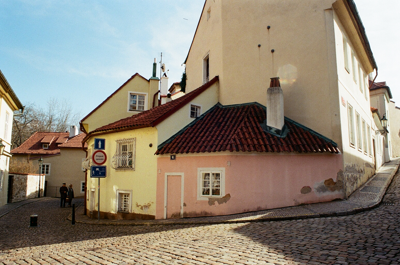 A Prague side street (All pics: Veronika Exnerova)