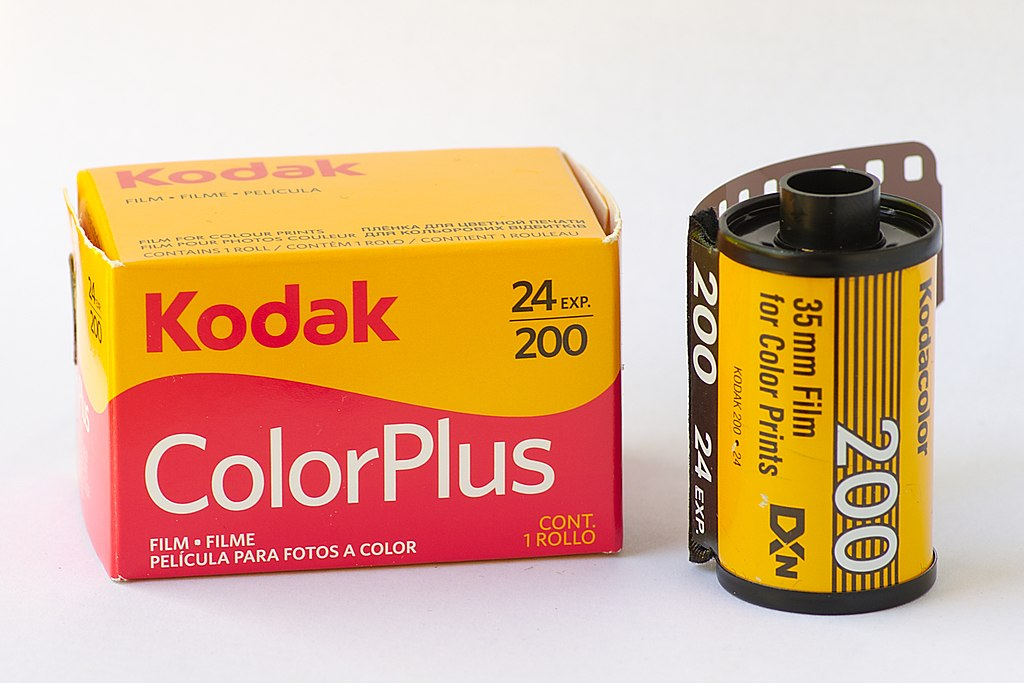 Kodak Colorplus 200 (Pic: El Grafo/Wikimedia Commons)