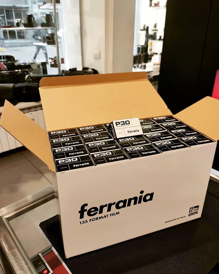 Ferrania P30 (Pic: Ottica Foto Cavour/Facebook)
