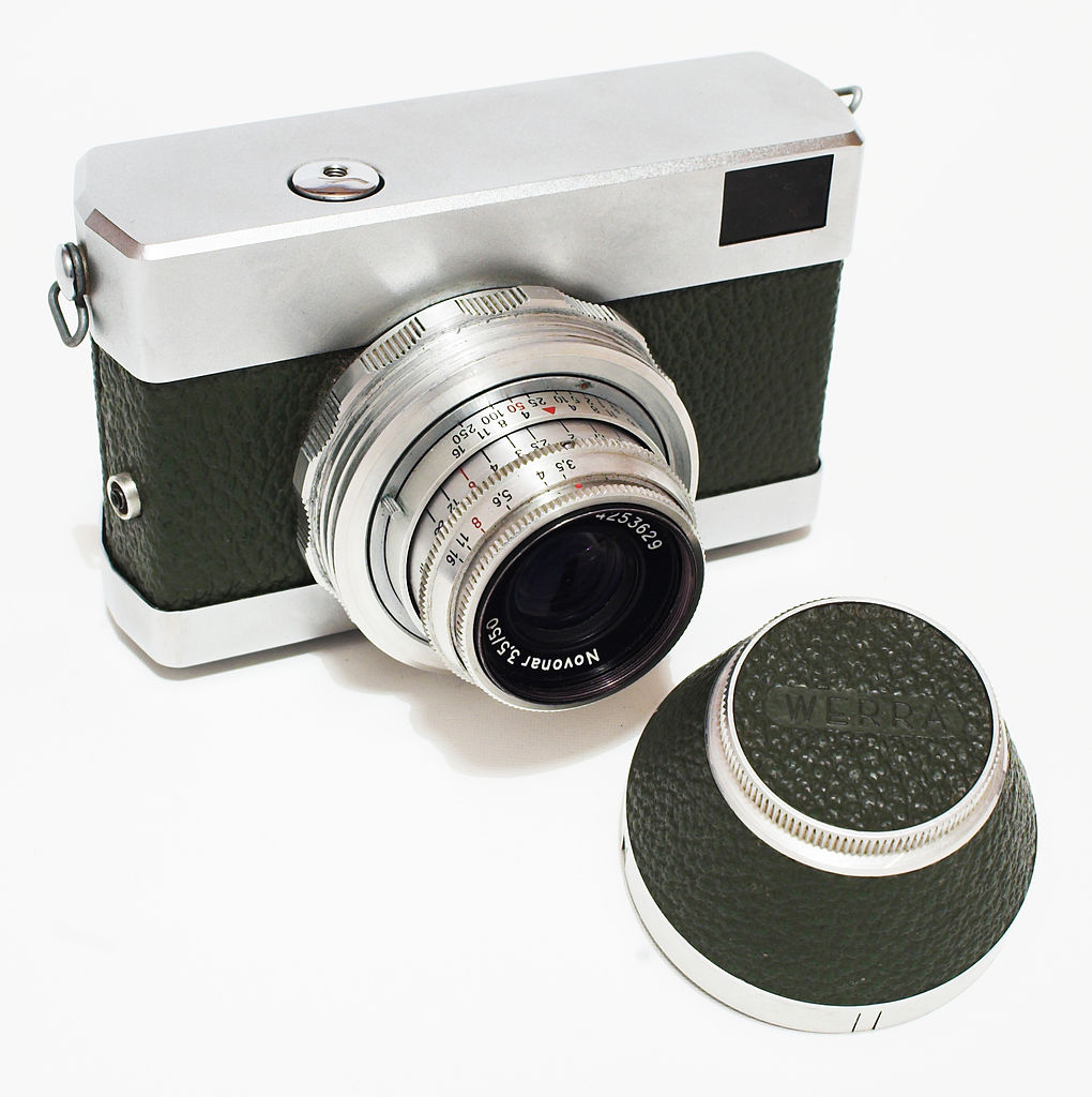 Werra camera (Pic: Pluzz/Wikimedia Commons)