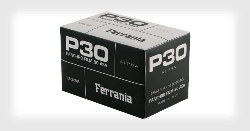 Ferrania P30 (Pic: FILM Ferrania)