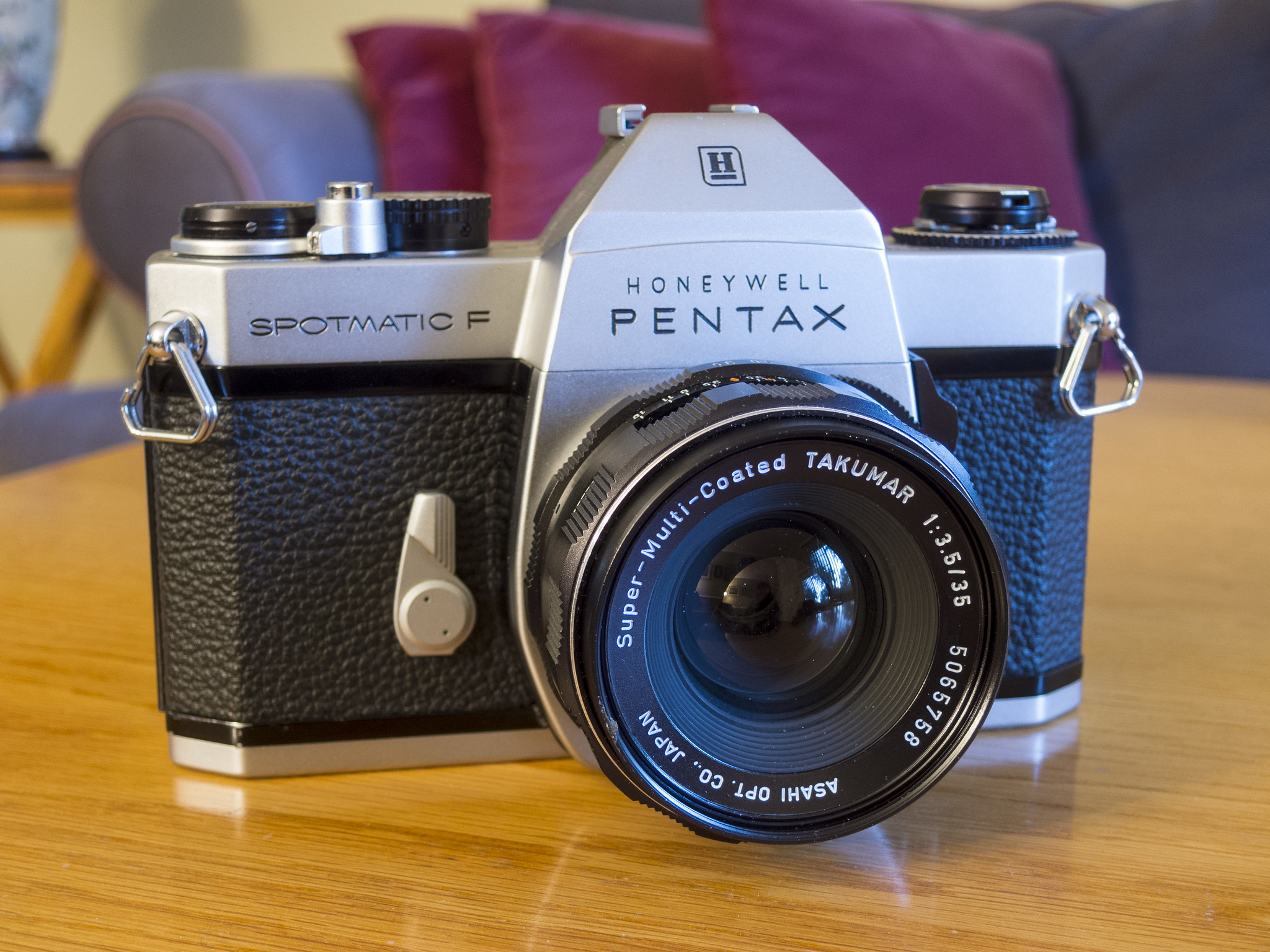 Pentax Spotmatic F (Pic: Jim Grey/Flickr)
