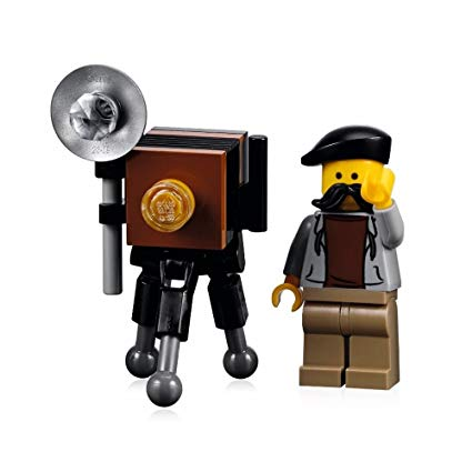 Lego Minifigure photographer and camera (Pic: Lego/Amazon)