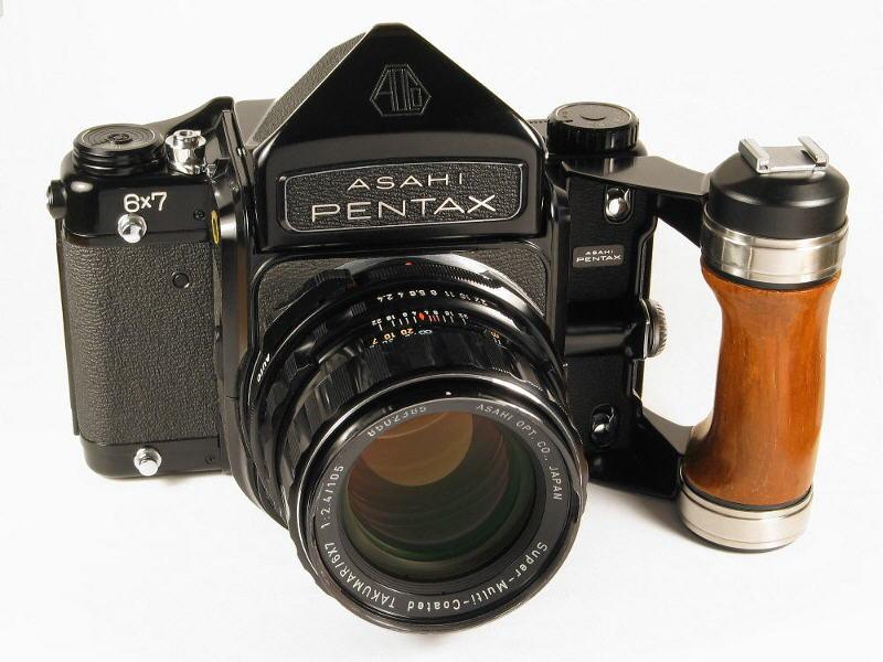 Pentax 6x7 (Pic: Jan von Erpecom/Wikimedia Commons)