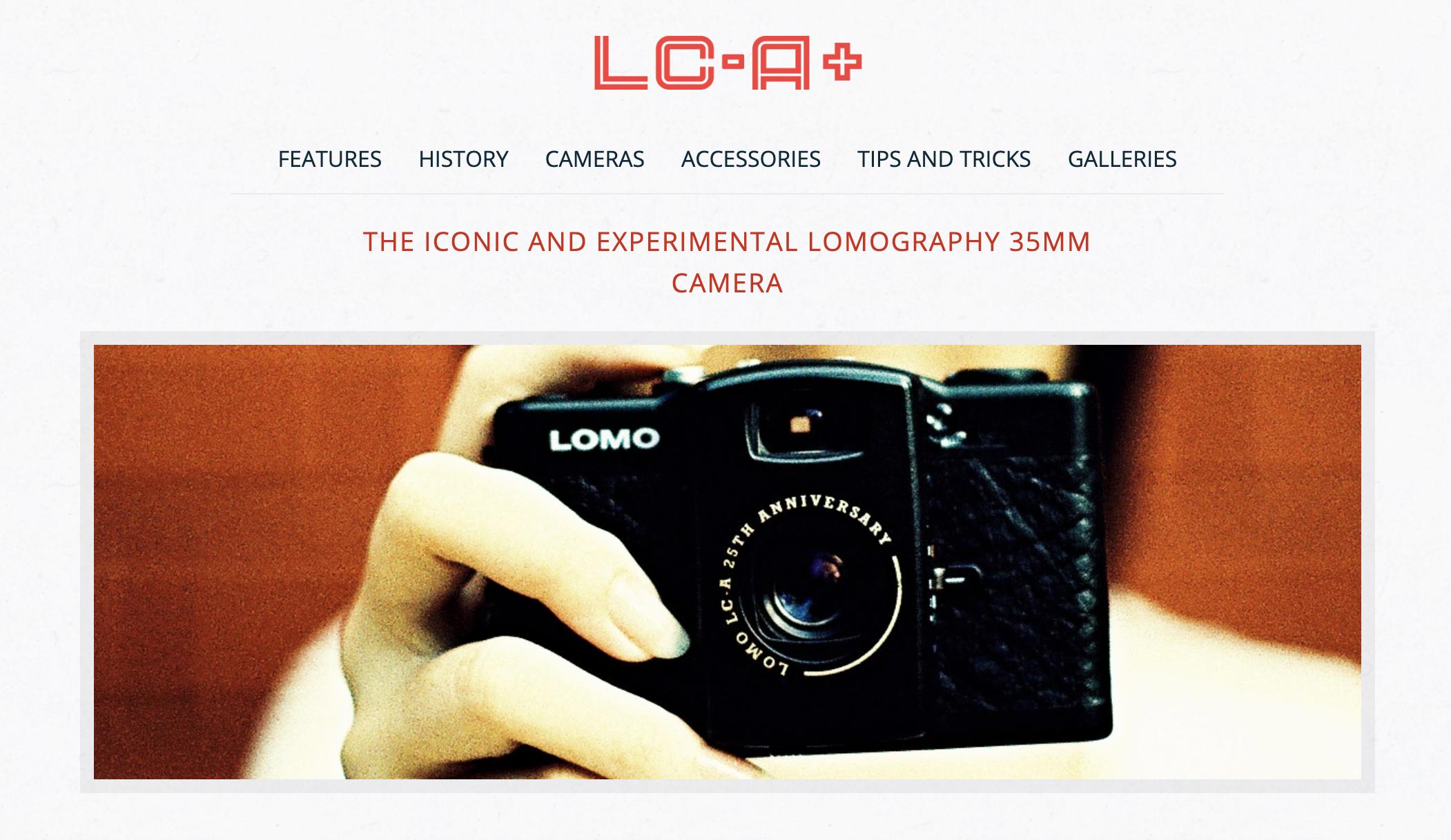 Lomo LC-A+ (Pic: Lomography)