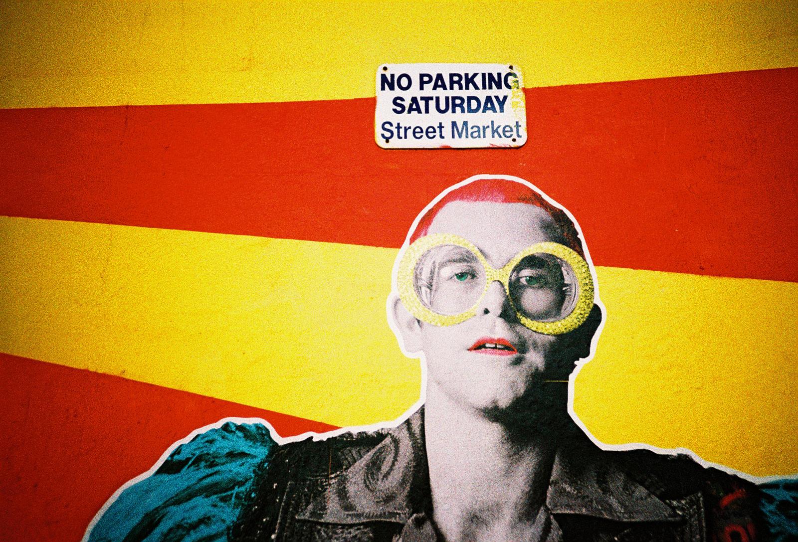 Elton John graffiti