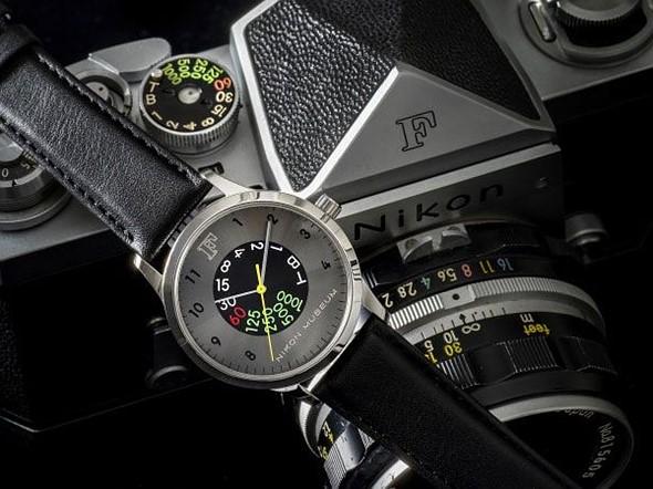 Nikon F watch (Pic: Nikon Museum)