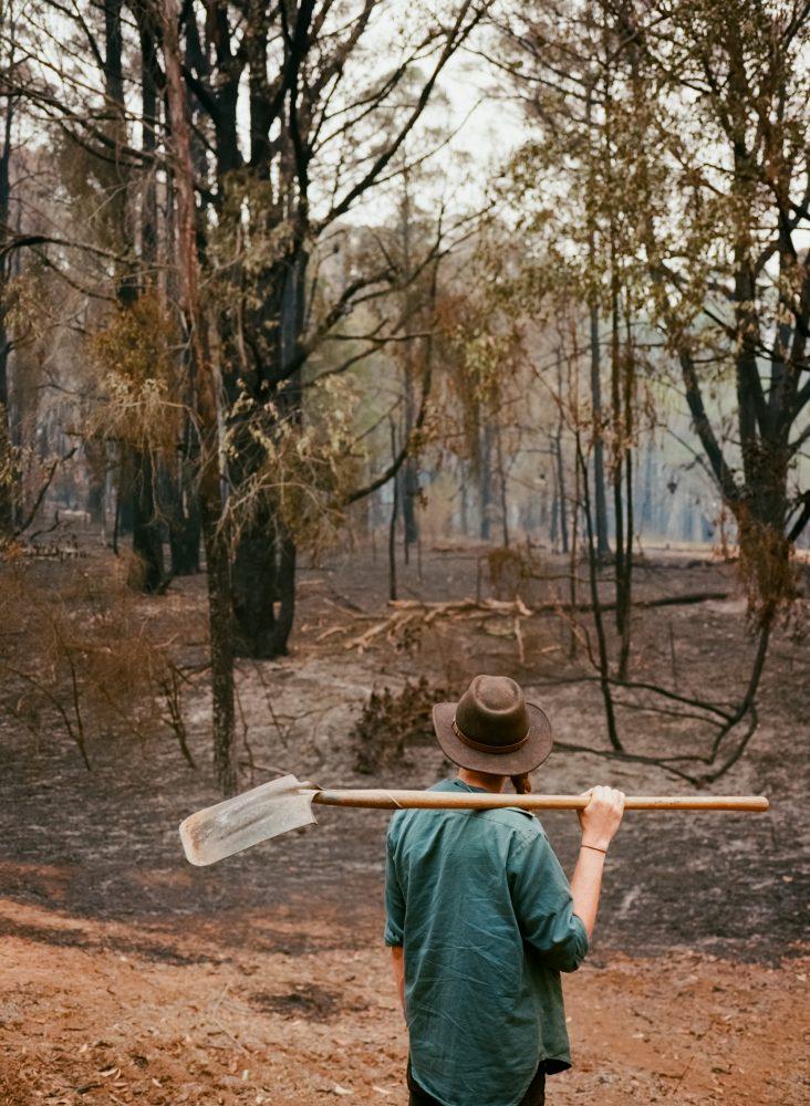 Australian bushfire aftermath (Pic: Keith Marshall)