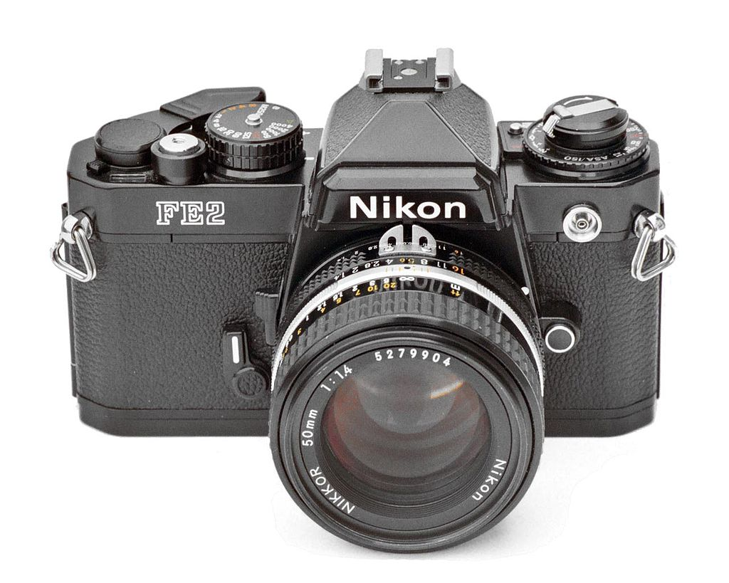 Nikon FE2 (Pic: Paul Chin/Wikimedia Commons)