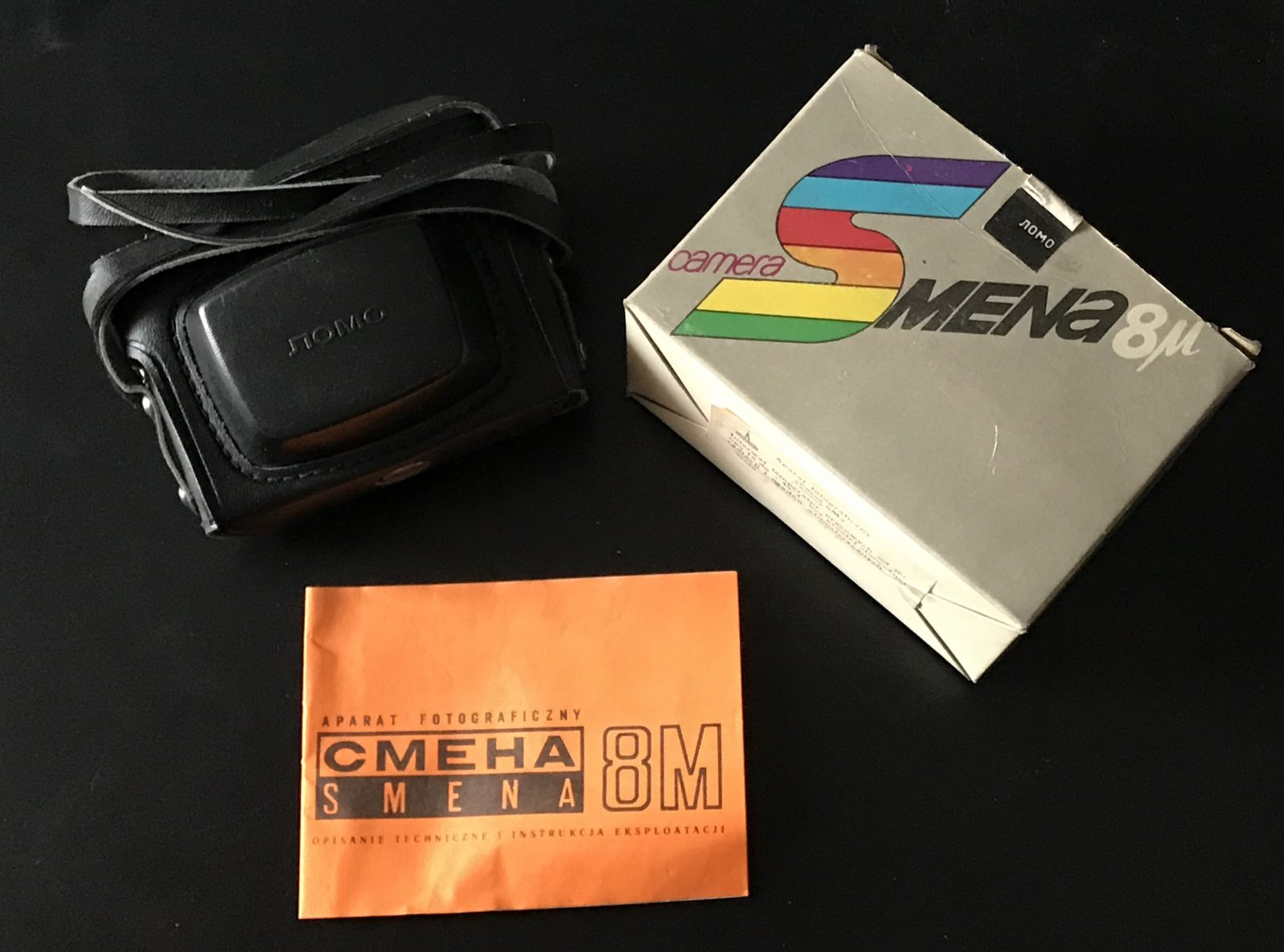 Smena 8M camera and packaging (Pic: Andrey Khludeyev)