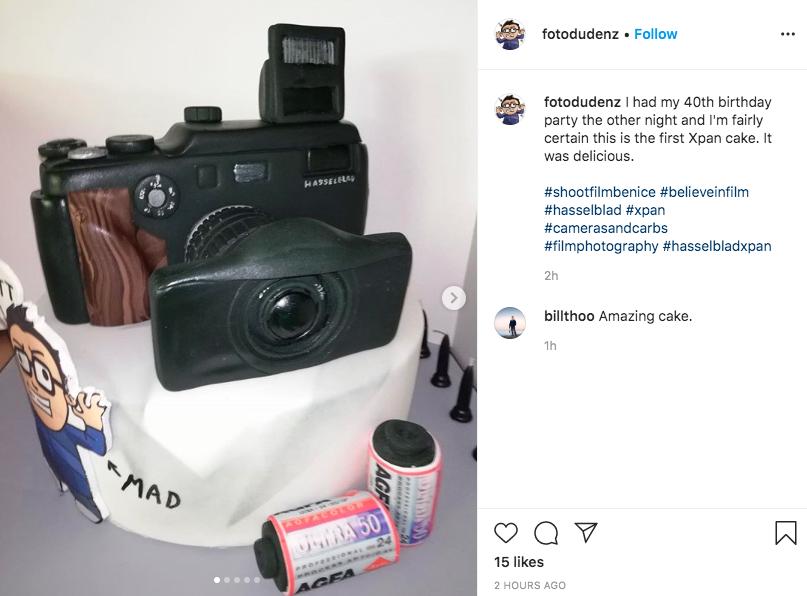 Xpan cake (Pic: Fotodudenz/Instagram)