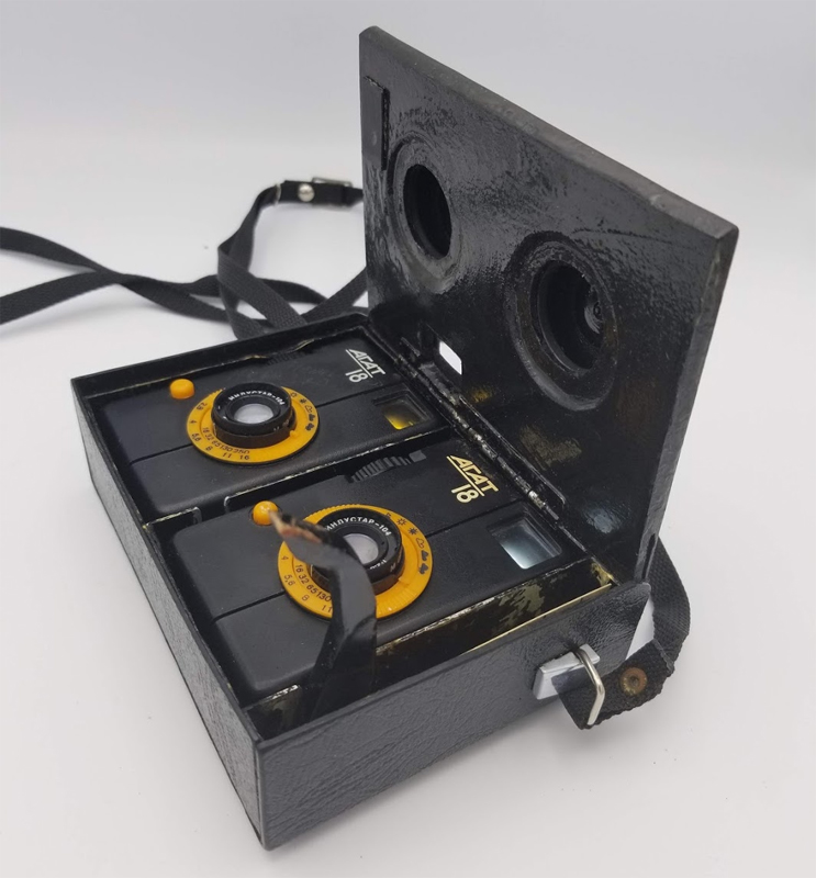 Agat-18 stereo camera (Pic: Vladislav Kern)