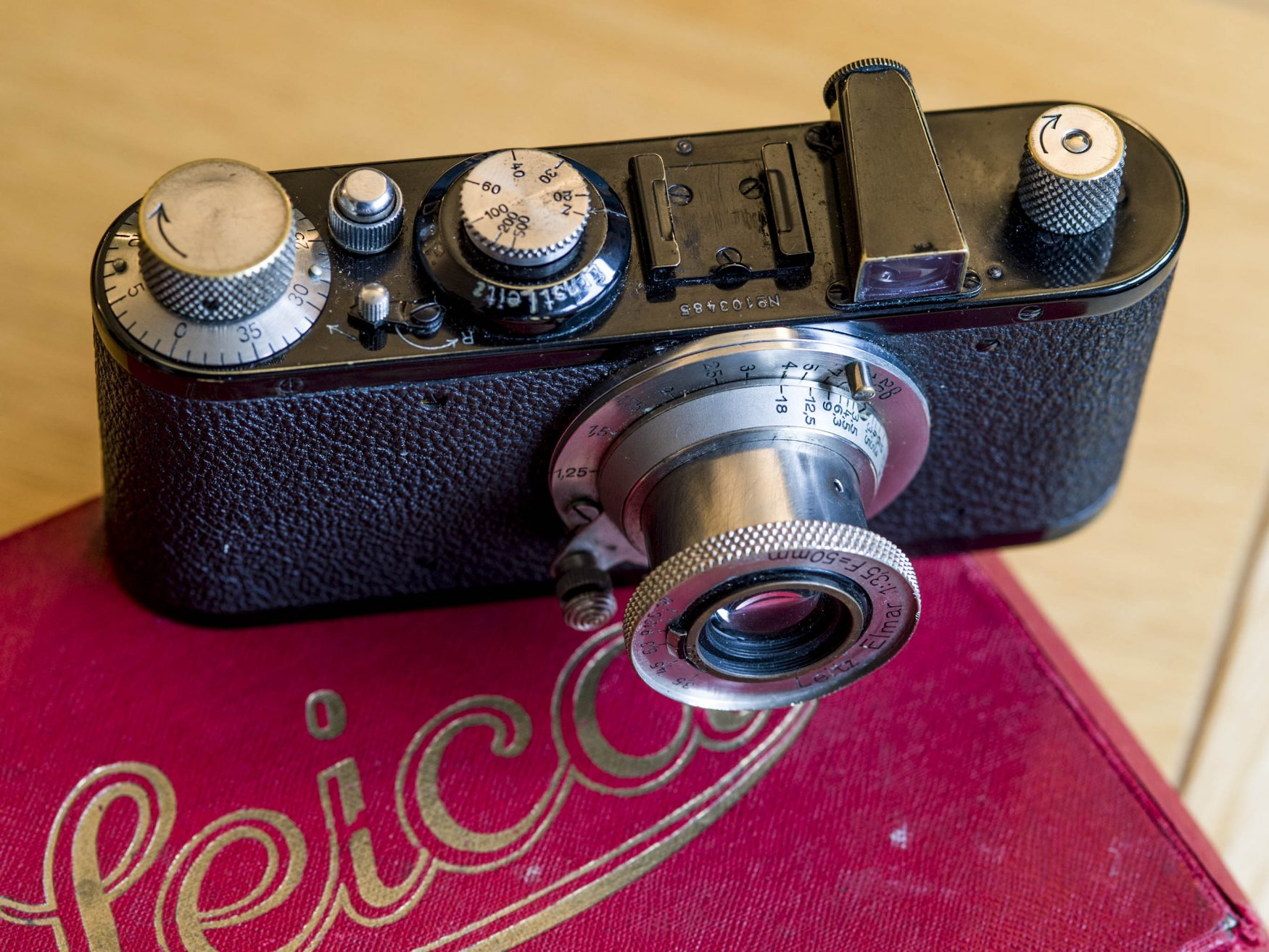Leica Standard and box (Pic: Darren Russell)
