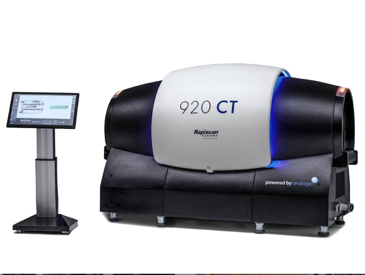 Rapiscan CT scanner Pic: Rapiscan Systems)