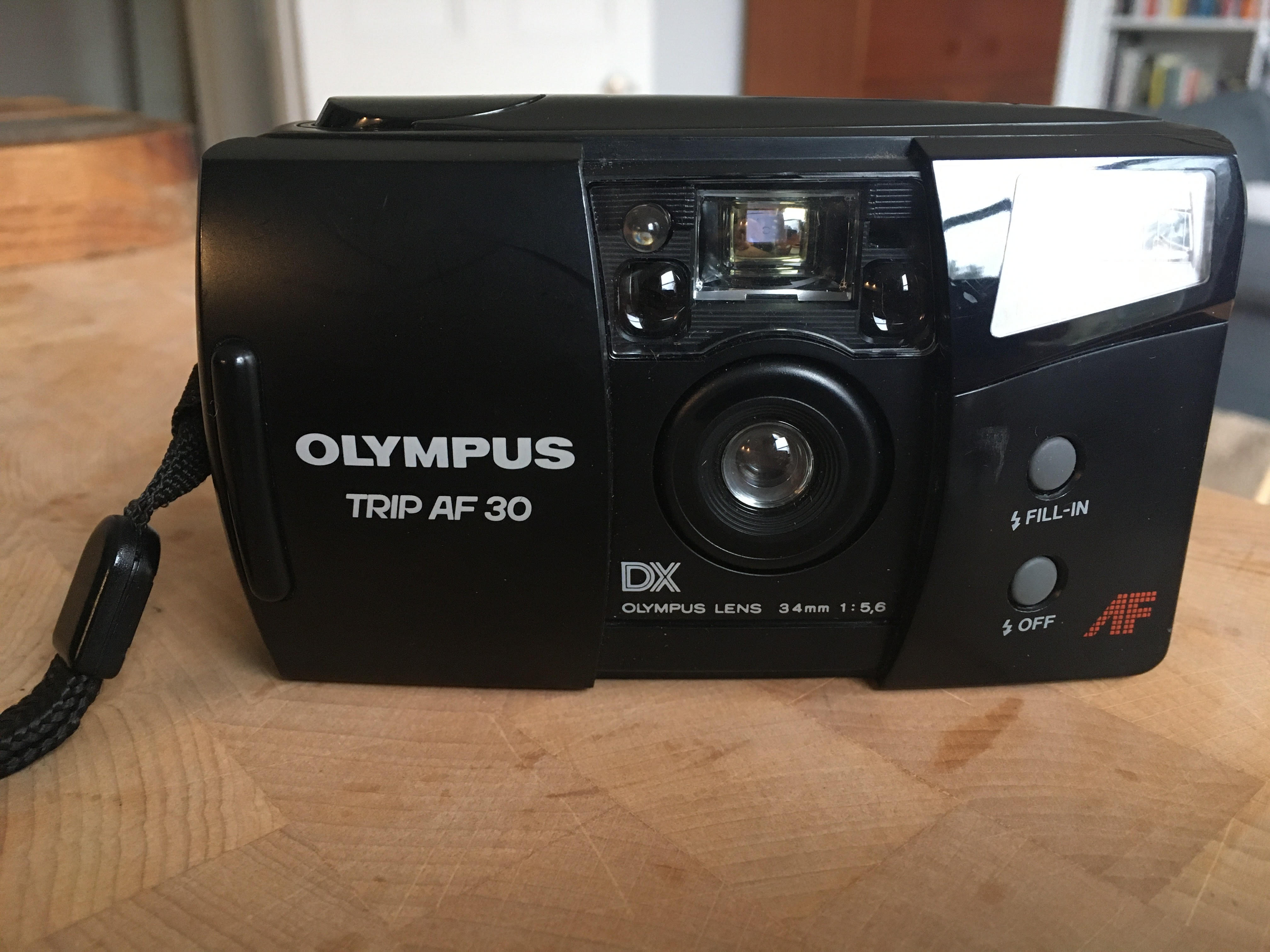Olympus Trip AF30 (Pic: Stephen Dowling)
