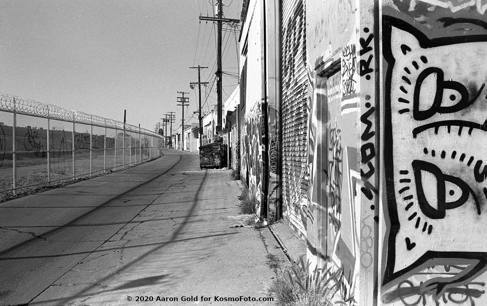 Street and graffiti (Pic: Aaron Gold)