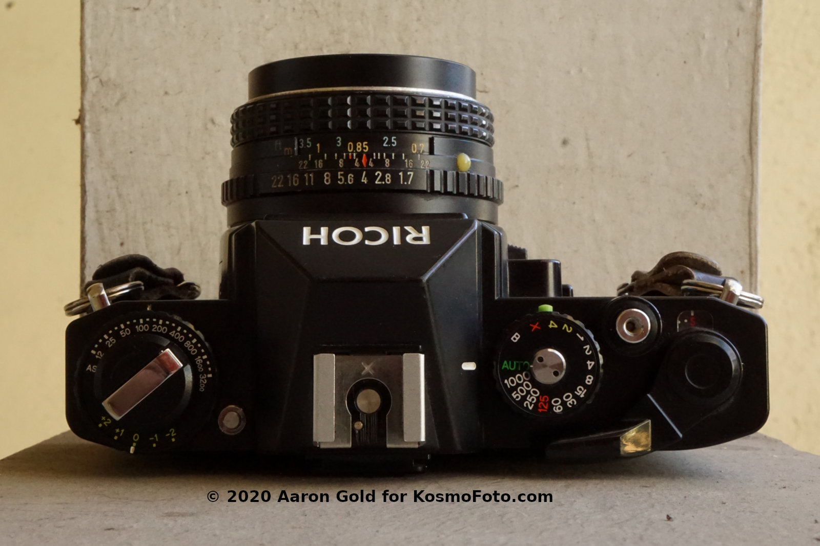 Ricoh KR-10 (Pic: Aaron Gold)