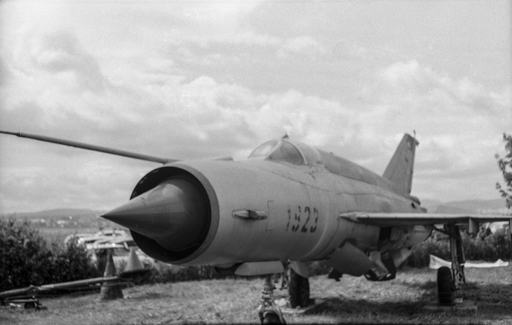MiG-21 (Pic: Iain Compton)