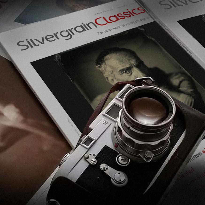 SilvergrainClassics issue and Leica (Pic: SilvergrainClassics)