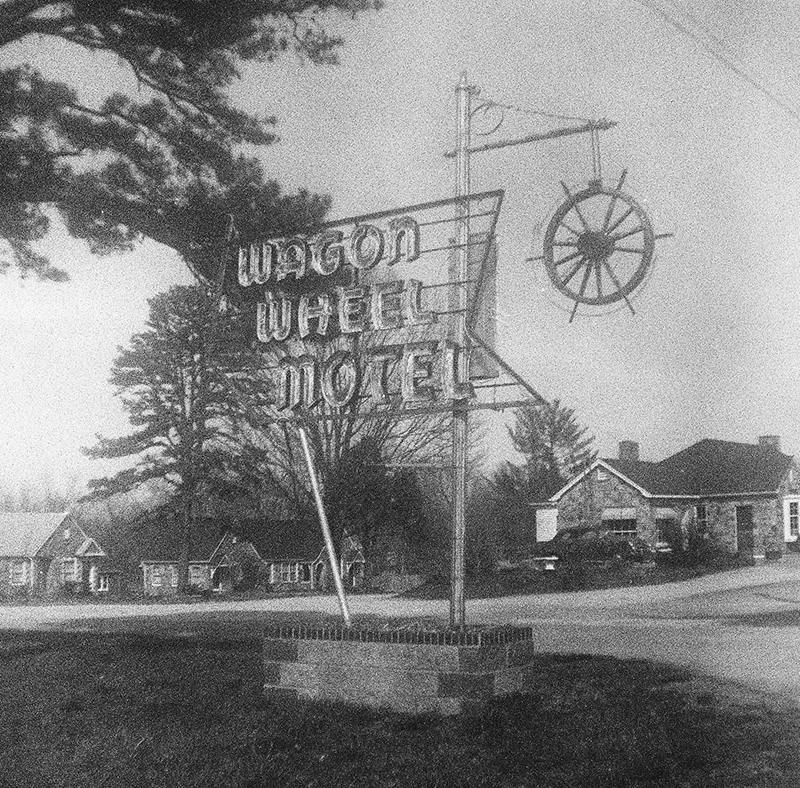 Wagon Wheel Motel (Pic: Jim Grey)