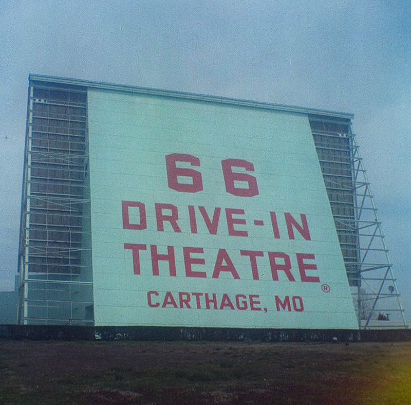66 Drive In theatre (Pic: Jim Grey)