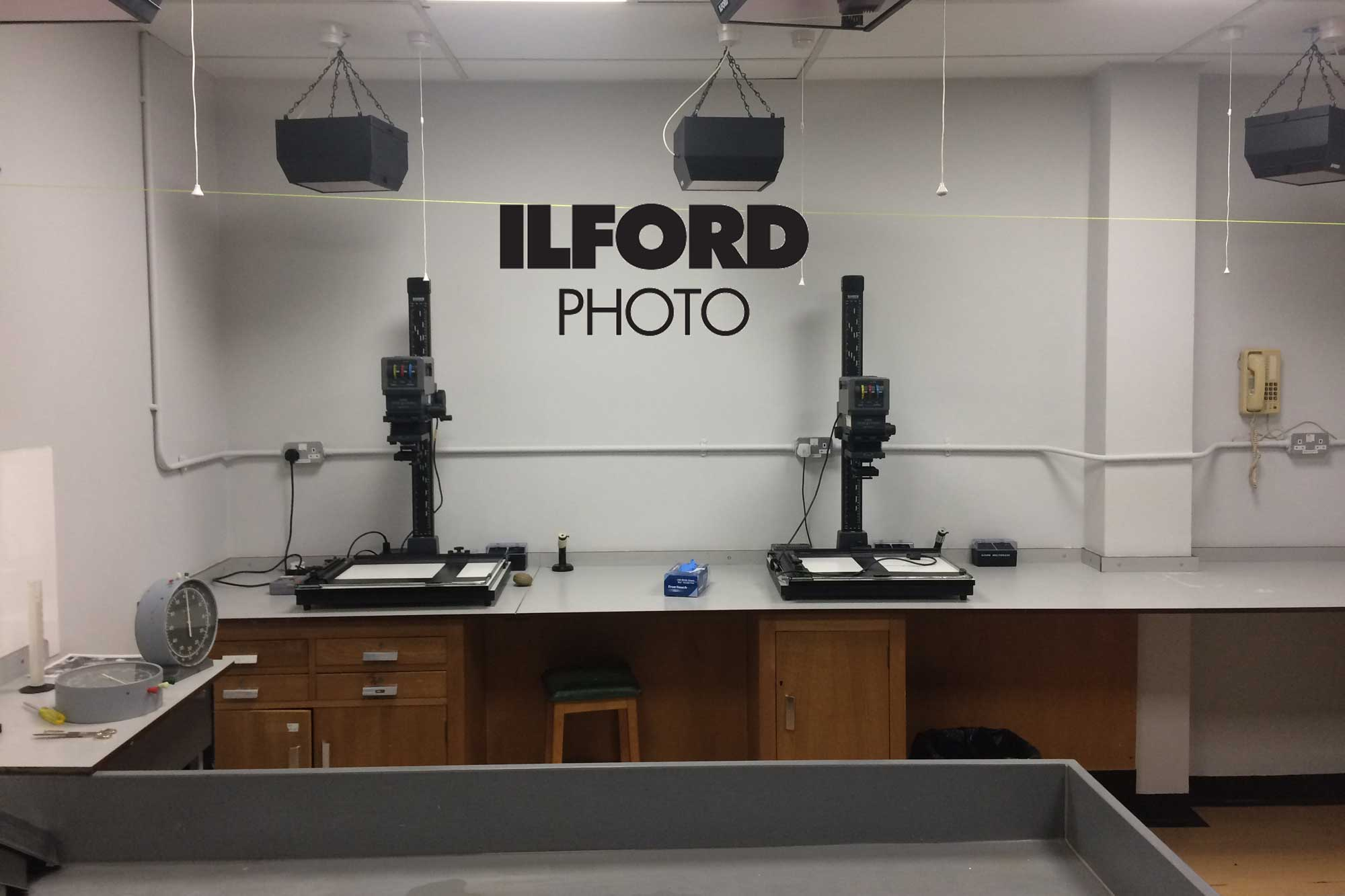 Ilford Photo darkroom (Pic: ILFORD Photo)