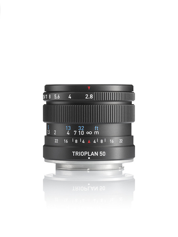 Meyer Optik Görlitz Trioplan 50/2.9 (Pic: OPC Optics)