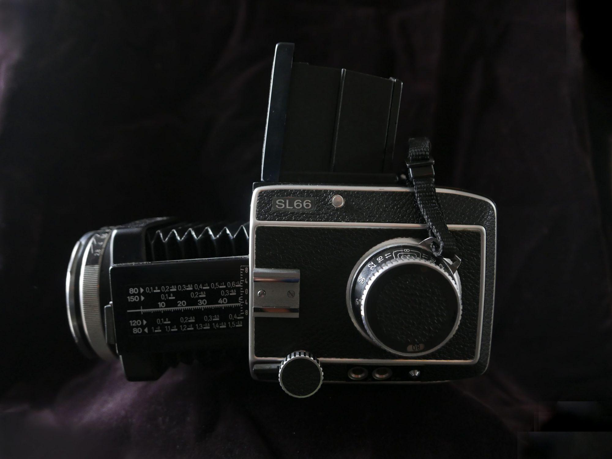 The Rolleiflex SL66 (Pic: Nuno Pinheiro)